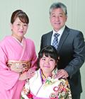 成人式前撮時ご家族記念写真プレゼント(6切サイズ)